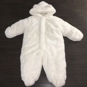 First Impressions Angel White Hoodie Coverall